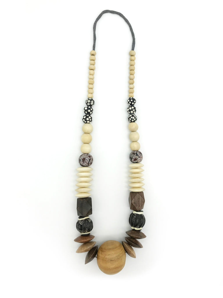 AYA Bijoux, Wood Harmony Necklace