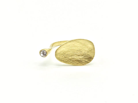 AYA By APRIY, Lotus Gold Ring