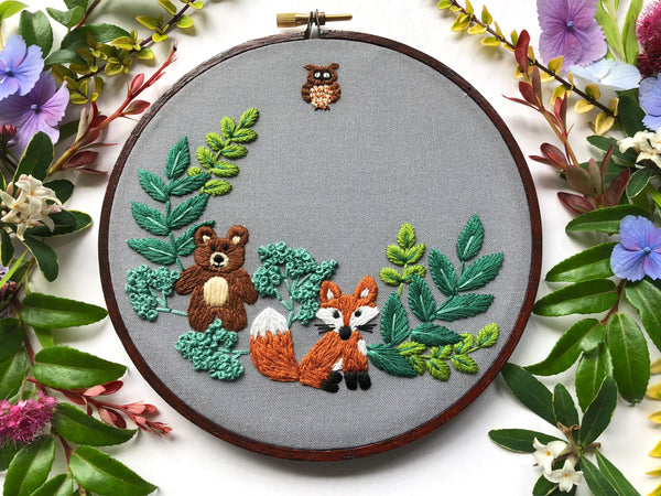 Hand Embroidery Kit for Beginners