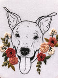 Custom Pet Portrait Embroidery Kits