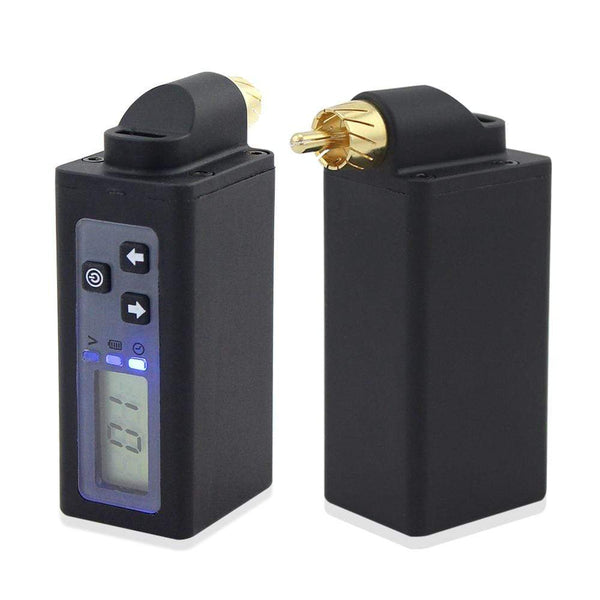 Distance RCA Tattoo Battery Pack Wireless Tattoo Power Supply for tattoo pen machines