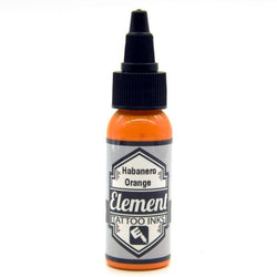Element Habanero Orange Tattoo Ink 1oz