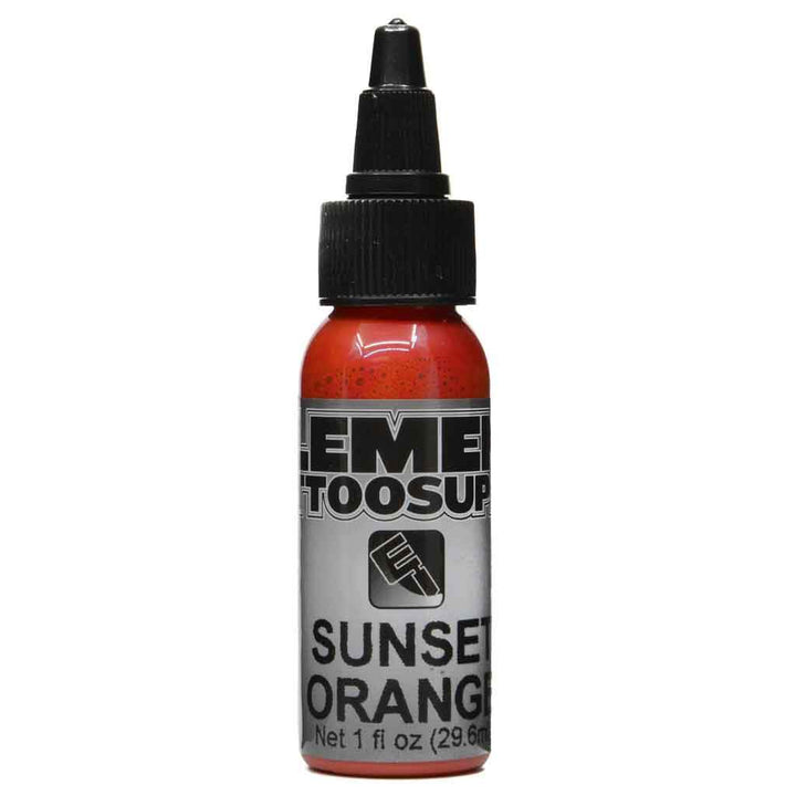 Element Tattoo Ink Sunset Orange