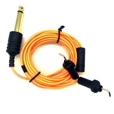 Element Tattoo Supply Power Supply Tattoo Clip Cord Slim Orange