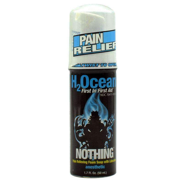 H2Ocean Nothing Pain Relieving Soap w/Lidocaine 1.7oz - Element Tattoo Supply