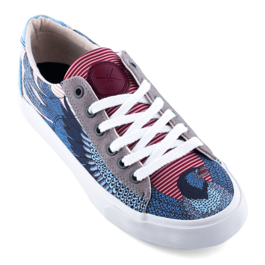 Men's Bald Eagle Low Top