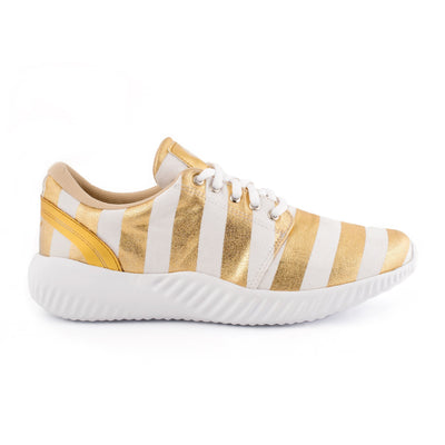 Women's Gold Stripes FlexAlpha