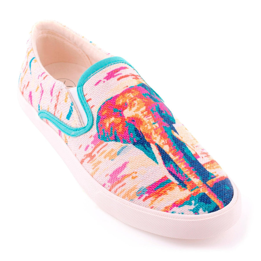 Women's Thai Elephant Slip On