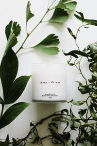 Brand & Iron - Rose & Citrus Candle