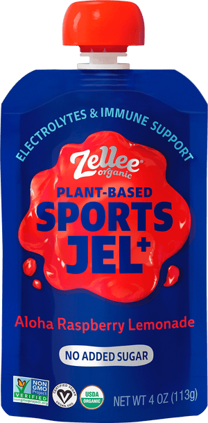 Zellee Organic Aloha Raspberry Lemonade Sports Jel