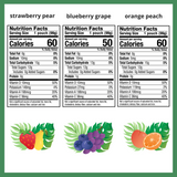 Zellee Organic Fruit Jel, Assorted Flavors - 6 pack