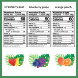 Zellee Organic Fruit Jel, Assorted Flavors - 18 pack