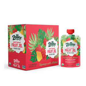 Strawberry Pear Fruit Jel - 12 pack