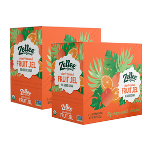 Orange Peach Fruit Jel - 24 pack