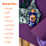 Zellee Sports Jels are great for an active lifestyle supports hydration after sports, hiking, yoga