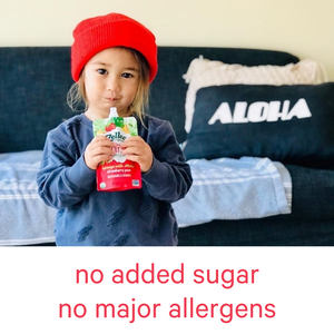 Zellee Organic Fruit Jels are sugar free and allergen free