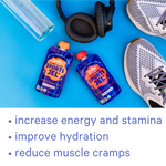 Zellee Organic Sports Jels reduce muscle cramps and increases energy and stamina