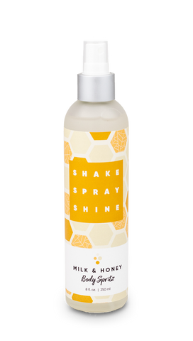 Body Spritz in Milk & Honey