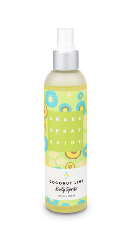Body Spritz in Coconut Lime