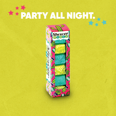 Cactus Party Shower Minis