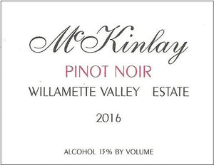McKinlay Pinot Noir Estate 2016 - Pinotguy 93+ Points