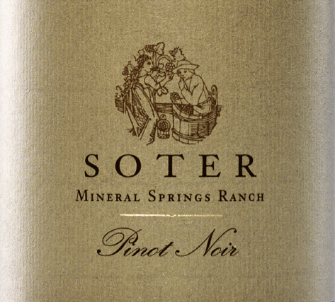 Soter Pinot Noir Mineral Springs Ranch 2017 -- Suckling 95 Points