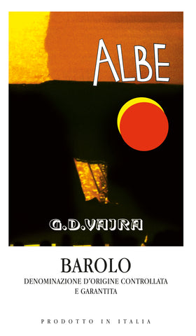 G.D. Vajra Barolo Albe 2016 - WS 94 Points