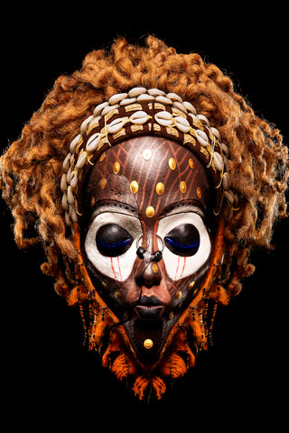Teddy Mitchener, 'Disappearing Africa Songye Mask', 2020