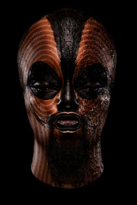 Teddy Mitchener, 'Disappearing Africa Chokwe Mask', 2020