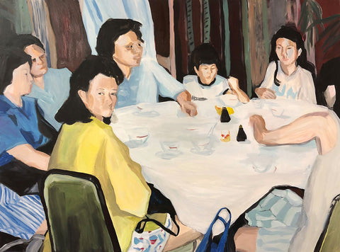 'The Whole Gang'. 2019 by Matilda Forsberg
