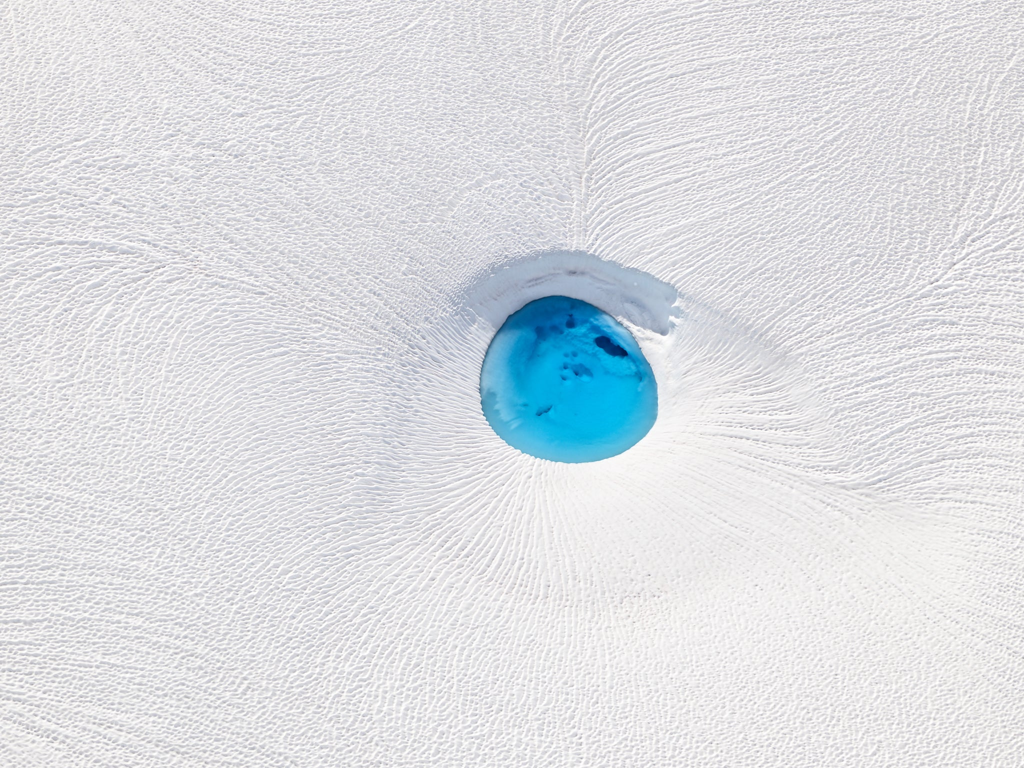 'The Eye of a Glacier'. 2019 by Stas Bartnikas