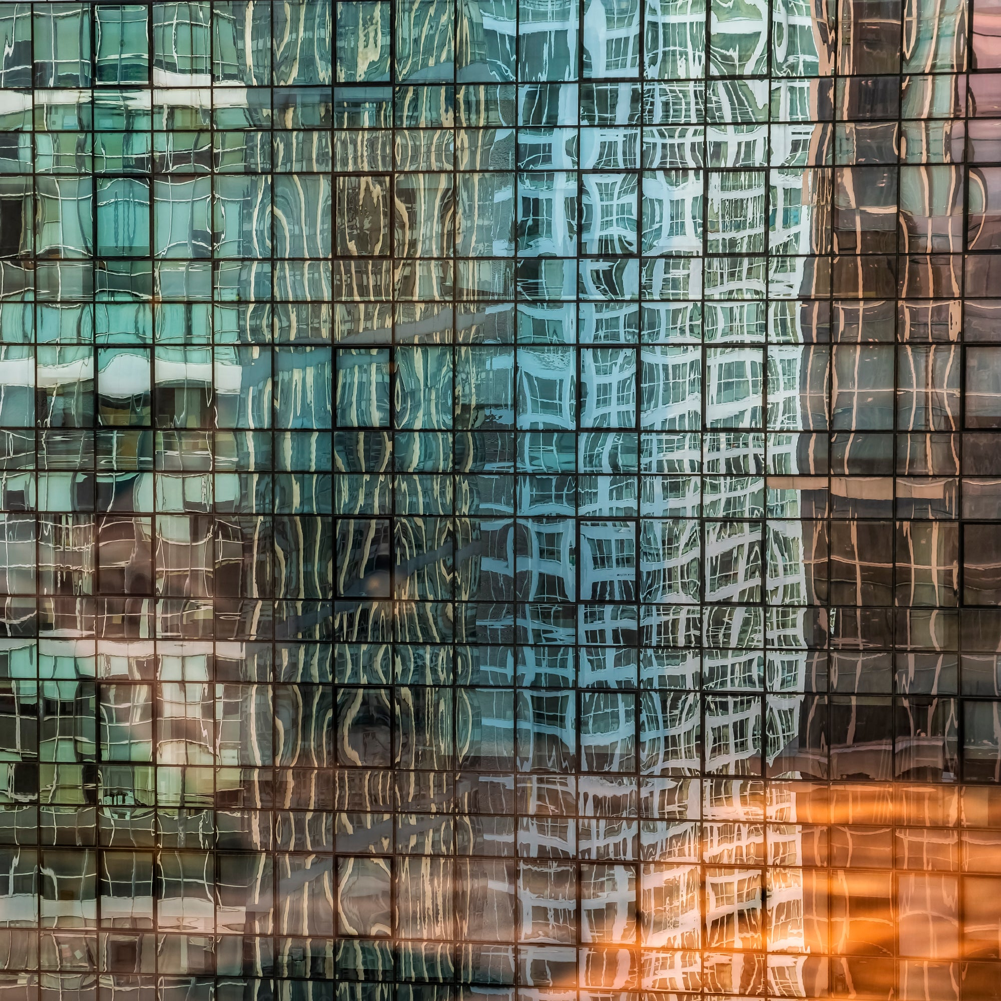 'Beijing Building Reflections', Tom Stahl, 2018