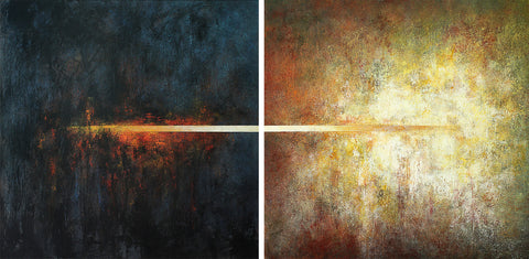 Peisy Ting, ' Transference of Light Diptych', 2020