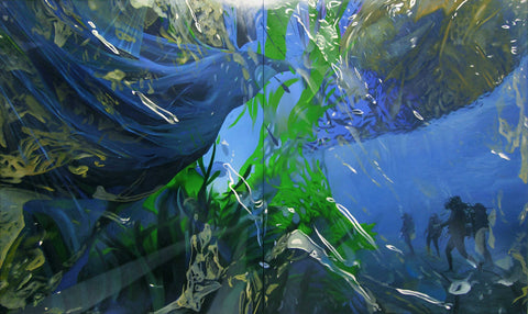 Erik Nieminen, 'Transmutation in the Big Blue', 2020