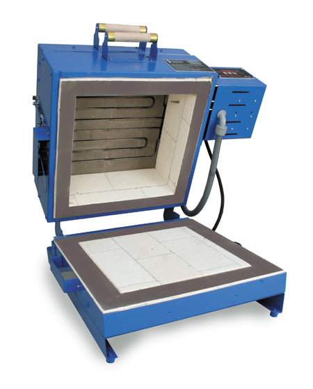 CS-16D Dual-Opening Clamshell Glass Kiln (With Furniture Kit) Glass Kiln - paragonkilns.com