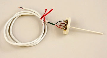 "THERMOCOUPLE - S-TYPE - FOR EXTREMELY EXTENDED HIGH TEMPERATURE USE (2 1/2"" TO 3"" WALL KILNS)"