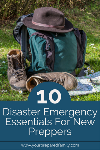 You don't have to be a hardcore survivalist to make it through the common natural disasters (e.g., hurricanes, storms, floods), but you DO need to make sure you're prepared with the essentials. These are the 10 Disaster Emergency Essentials for New Preppers.