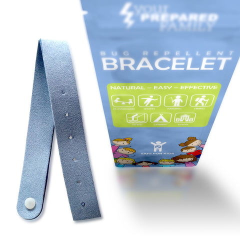 Mosquito Repellent Bracelet with Natural Citronella Oil
