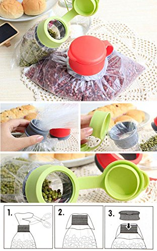 Food Clamp - Bag Sealer - Food Storage Bag Clip
