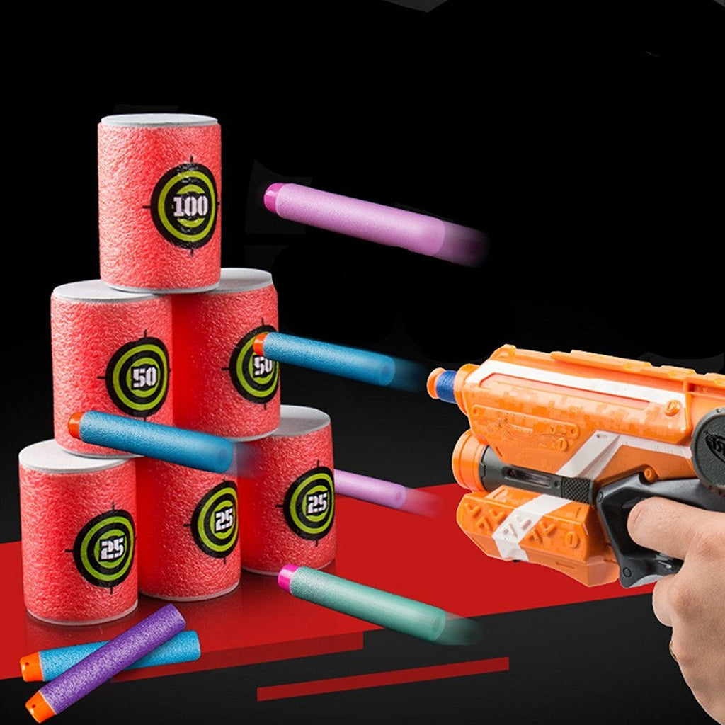 EVA Soft Bullet Target for NERF - Pack of 12pcs
