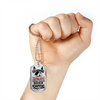 Image of Zombie Apocolypse Camping Necklace