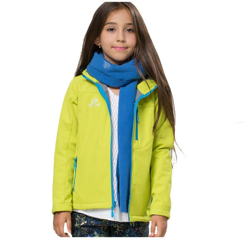 Kids Softshell Hiking Jacket