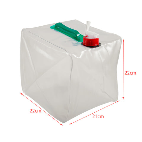 10L Portable Folding Water Storage Bag - Great for Camping, Hiking, Survival