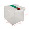 Image of 10L Portable Folding Water Storage Bag - Great for Camping, Hiking, Survival