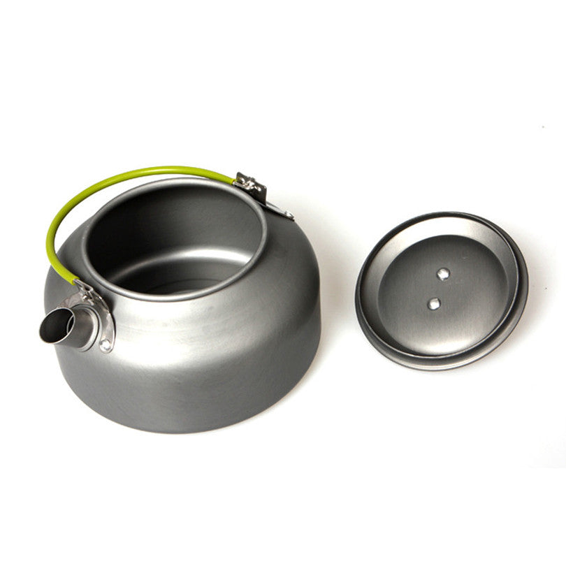 Outdoor Coffee Teapot - Great for Camping Hiking Picnic BBQ - Portable Kettle