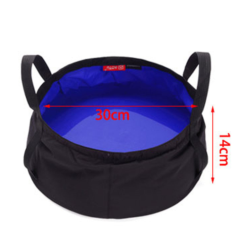 8.5L Portable Collapsible Folding Basin Bucket