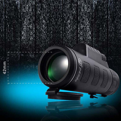 New 35x50 Night Vision Adjustable Zoom Monocular Telescope Camping Hunting