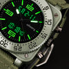 Image of Men's Watch - Sports Military Tactical - Quartz Watche with LED, Analog and Digital - Durable Nylon Strap