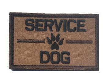 Service Dog Patch - Ask To Pet - Tactical Patch