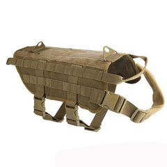 Military Tactical Dog Vest - Molle Training Vest